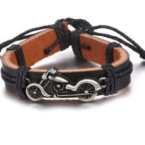Jewelry - GORGEOUS MOTORCYCLE BRACELET NEW